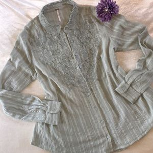 Tops - Free People Top Button Down